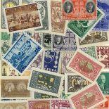 Sammlung gestempelter Briefmarken Litauen vor 40