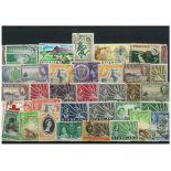 Collection de timbres Nyassaland oblitérés