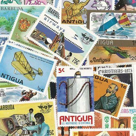 Antigua und Barbuda - 25 verschiedene Briefmarken