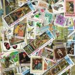 Used stamp collection Arabia