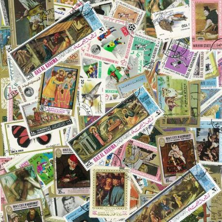 Saudi - 100 different stamps