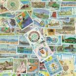 Sammlung gestempelter Briefmarken Saudi-Arabien