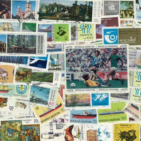 Collection de timbres Argentine oblitérés