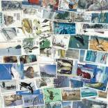 Collection de timbres Australie Antarctique oblitérés