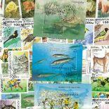 Sammlung gestempelter Briefmarken Aserbaidschan