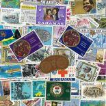 Colección de sellos las Bahamas usados