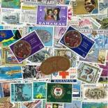 Used stamp collection the Bahamas