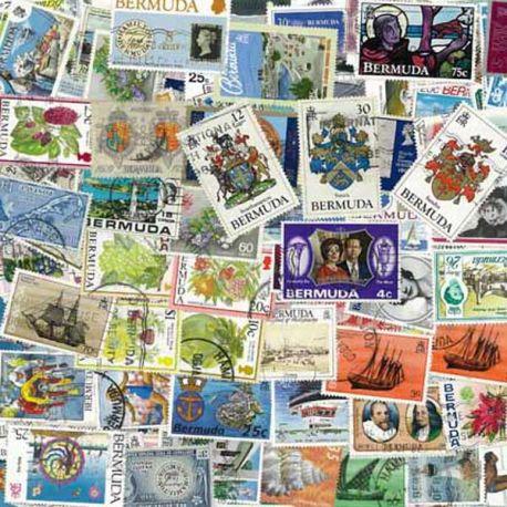 Bermudes - 10 timbres différents
