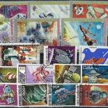 Used stamp collection Come