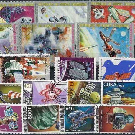 Venus: 25 verschiedene Briefmarken
