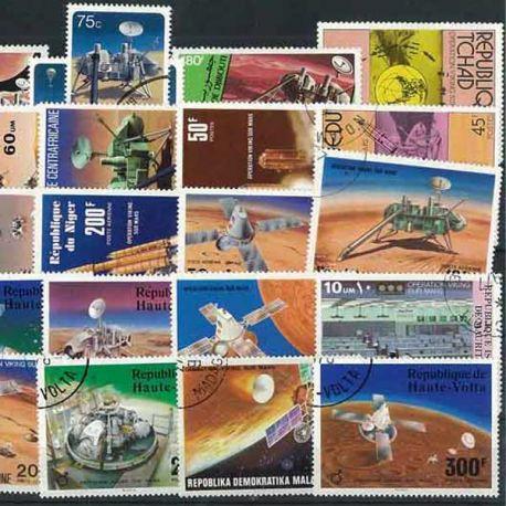 Viking: 25 verschiedene Briefmarken