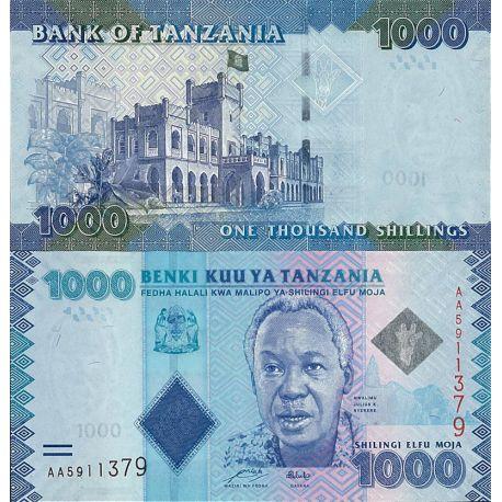 Billets de banque Tanzanie Pk N° 41 - 1000 Shilings