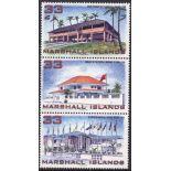 Marshall Kein 1019-1021 Postfrische