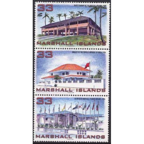 Marshall - Nr. 1019/21-neun ohne Scharnier