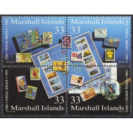 Marshall - Nr. 1129/32 - neun ohne Scharnier
