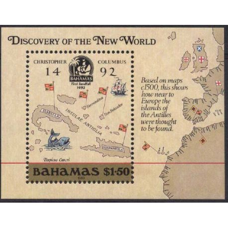 Bahamas - Bloc N° 51 - Neuf sans charnière