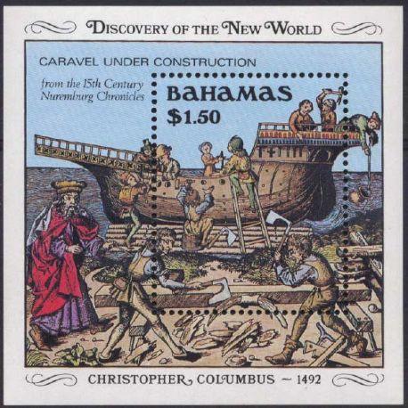 Bahamas - Bloc N° 54 - Neuf sans charnière