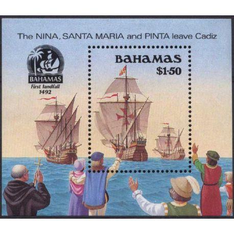 Bahamas - Bloc N° 58 - Neuf sans charnière