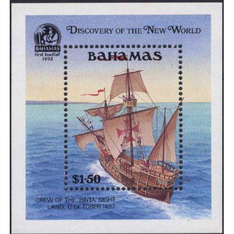 Bahamas - Bloc N° 62 - Neuf sans charnière