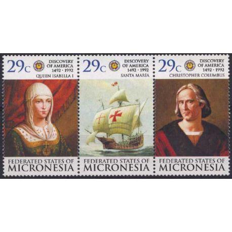 Micronesie - N° 199/201 - Neuf sans charnière