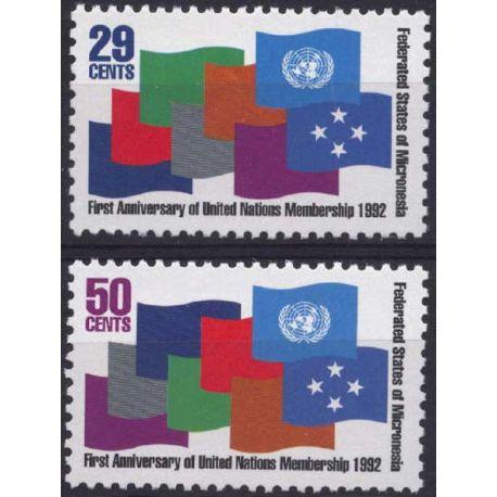 Micronesie - N° 202/03 - Neuf sans charnière
