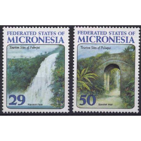 Mikronesien - Nr. 250/51-neun ohne Scharnier