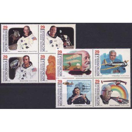 Mikronesien - Nr. 279/86-9 ohne Scharnier