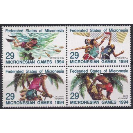Micronesie - N° 287/90 - Neuf sans charnière