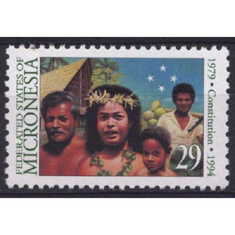Mikronesien - Nr. 295-neun ohne Scharnier