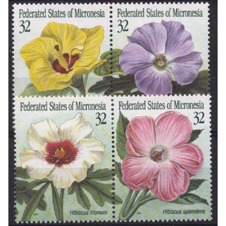 Mikronesien - Nr. 348/51-neun ohne Scharnier