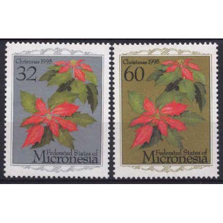 Mikronesien - Nr. 372/73-neun ohne Scharnier