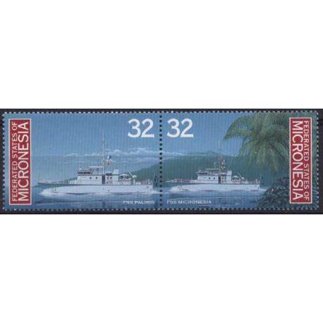 Mikronesien - N ° 417/18 - neun ohne Scharnier