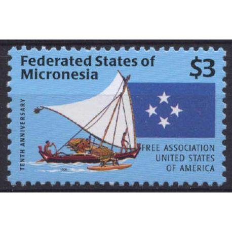 Mikronesien - Serie NC - neun ohne Scharnier