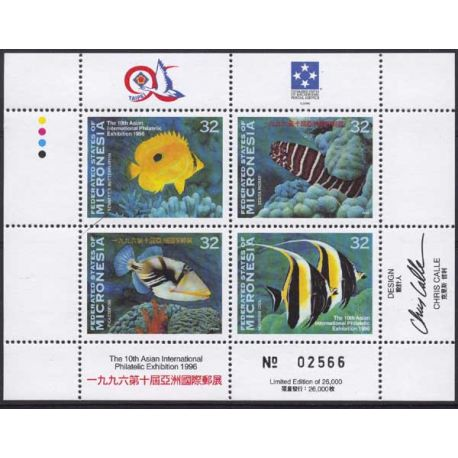 Micronesie - Bloc N° 24 - Neuf sans charnière