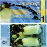 Cheap Antarctica - Antártida 1 dólar billete de banco