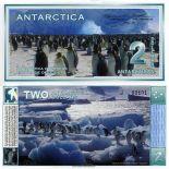 Billet Antarctique - Billet de 2 Dollars Antarctique