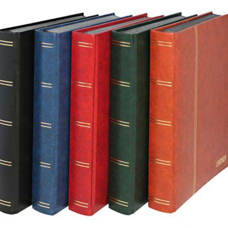 Matériel philatélique de marque Lindner Classeurs Timbres Lindner 60 pages noires 21,68 €