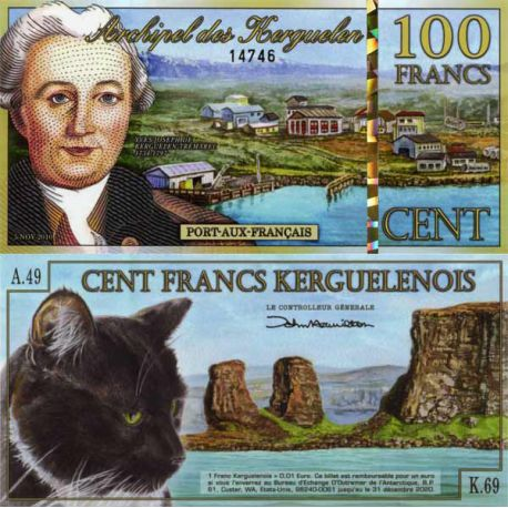 Arctique - Pk N° 99999 - Billet de 10 Dollars polaires