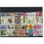 Collection de timbres Pahang oblitérés