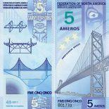 Federazione banconota del Nord America - 5 Ameros
