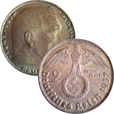 Allemagne Pièce de 2 Reichsmark de 1937 - Berlin
