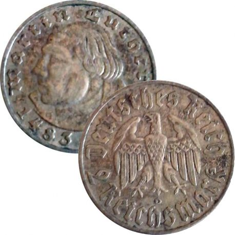 Allemagne Pièce de 2 Reichsmark de 1934 - Berlin
