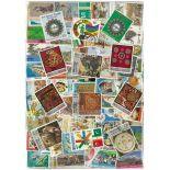 Sammlung gestempelter Briefmarken Pakistan