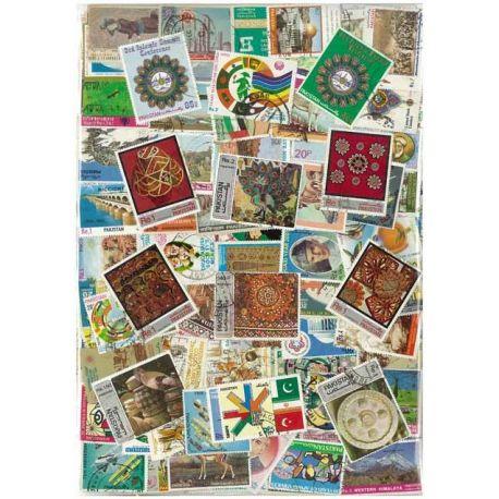 Collection de timbres Pakistan oblitérés