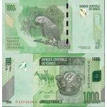 Billet de banque collection Congo - PK N° 101 - 1000 Francs