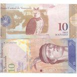 Billet de banque collection Venezuela - PK N° 90 - 10 Bolivares