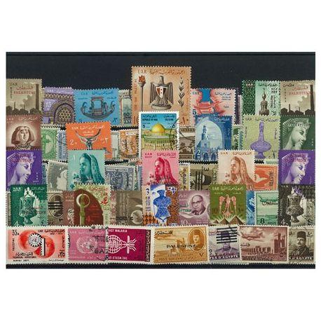 Palästina - 25 verschiedene Briefmarken