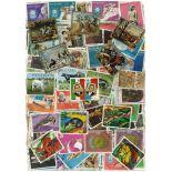 Sammlung gestempelter Briefmarken Panama