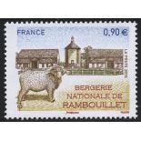 Sellos franceses N ° 4444 nuevos sin charnela