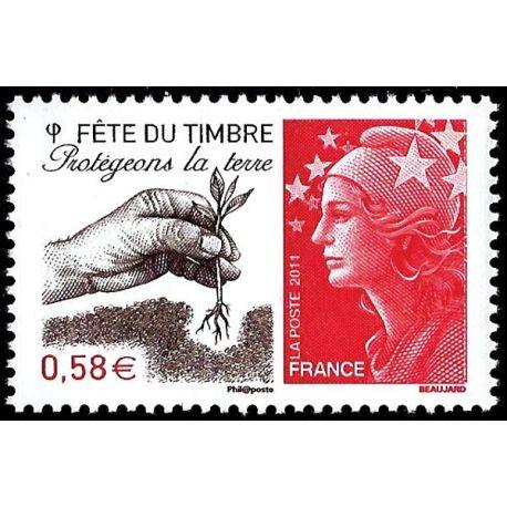 Timbre France N° 4534 neuf sans charnière
